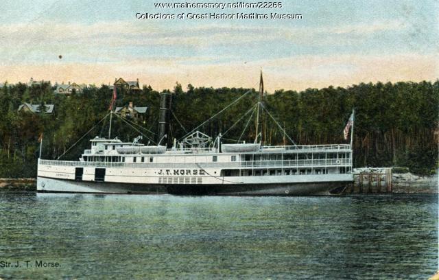 J.T. Morse at Seal Harbor, ca. 1910