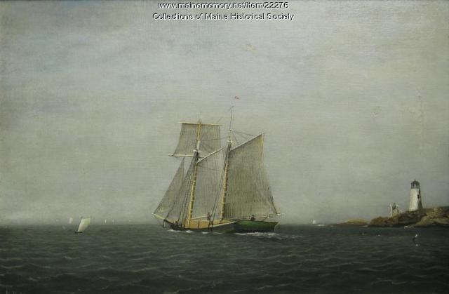 Topsail schooner, ca. 1877