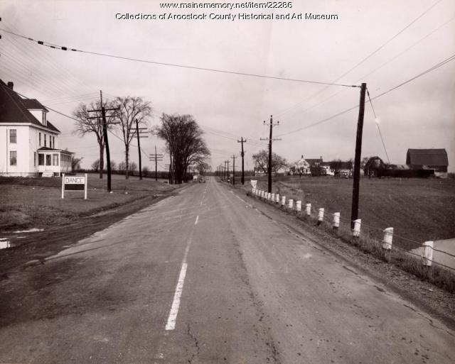 Route 1, Houlton, ca. 1950