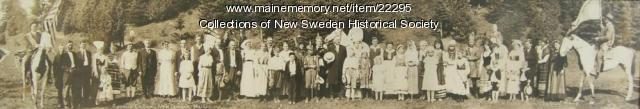 Coming of the Swedes, 40th Anniversary, 1910