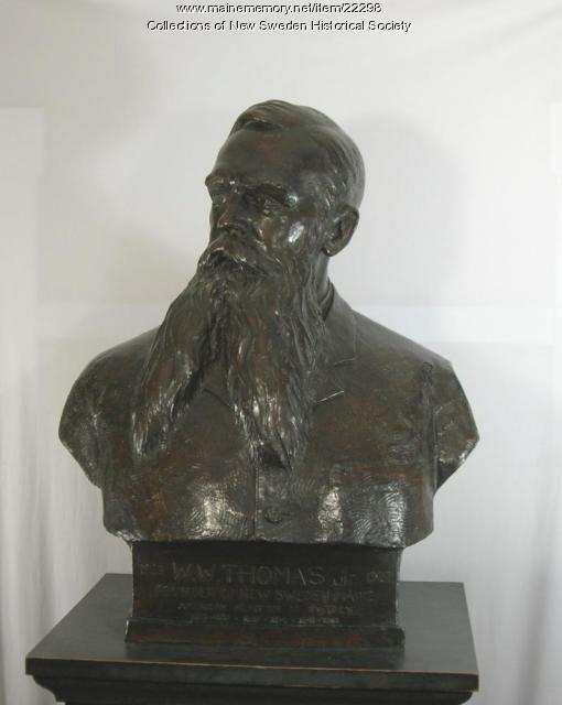 William W. Thomas sculpture