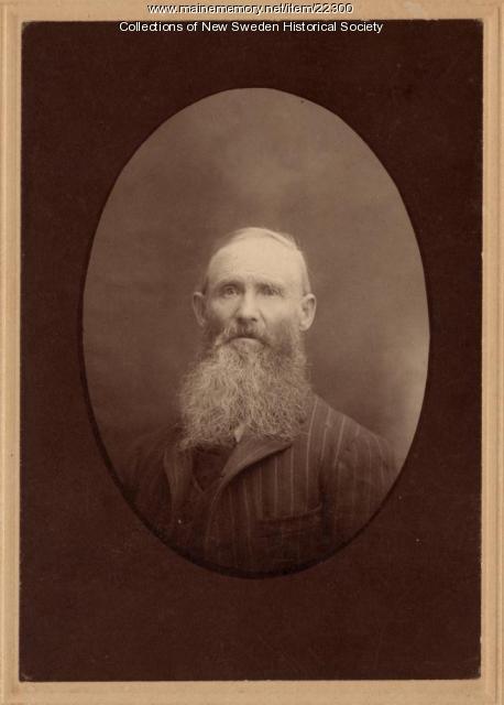 Truls Persson, New Sweden, ca. 1880
