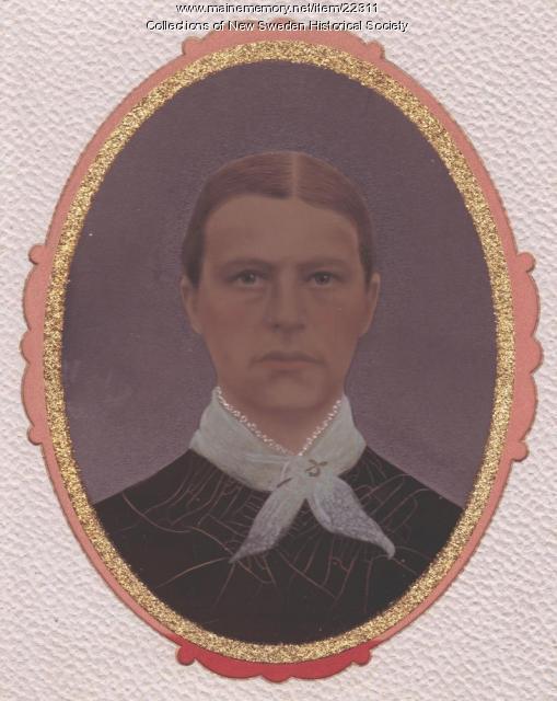 Brita Hedman, New Sweden, ca. 1881