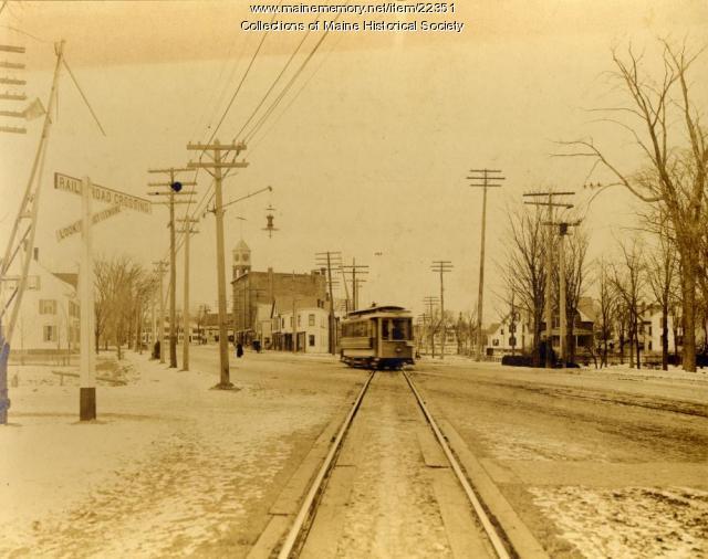 Woodfords Corner, Portland, 1904