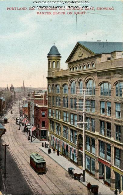 Congress Street, Portland, 1907