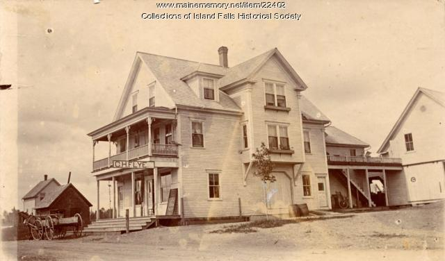 Island Falls Grange Store, 1904