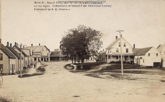 Main Street, Island Falls, ca. 1910