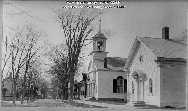Unitarian Church, Saco, ca. 1890