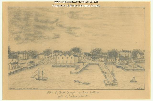 Site of Fort Loyal, Portland