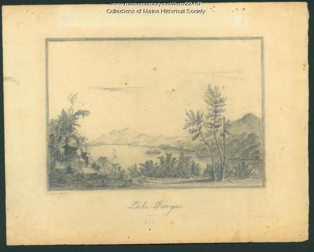 Lake George in 1833