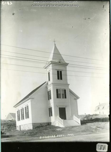 Union Church, Biddeford Pool, 1910
