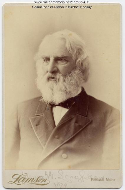 Henry Wadsworth Longfellow, Portland, 1878