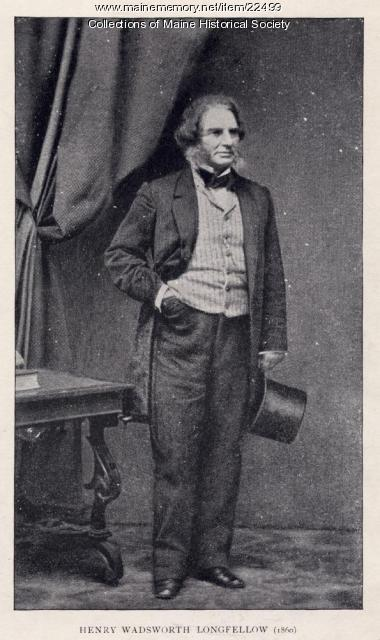 H.W. Longfellow, Cambridge, 1860