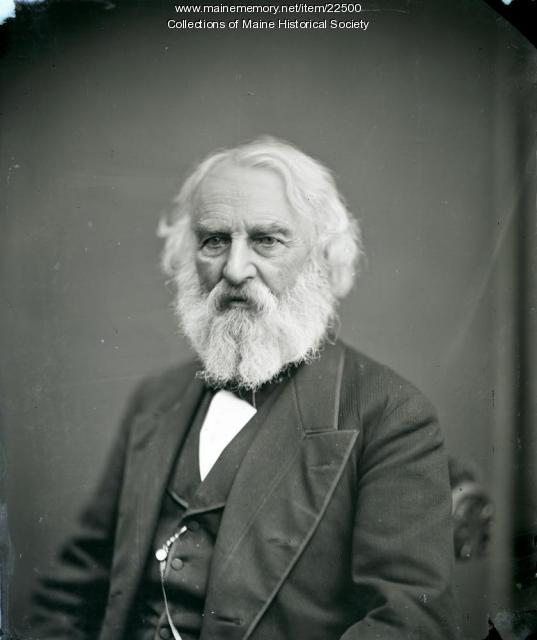 Henry W. Longfellow, Portland, 1878