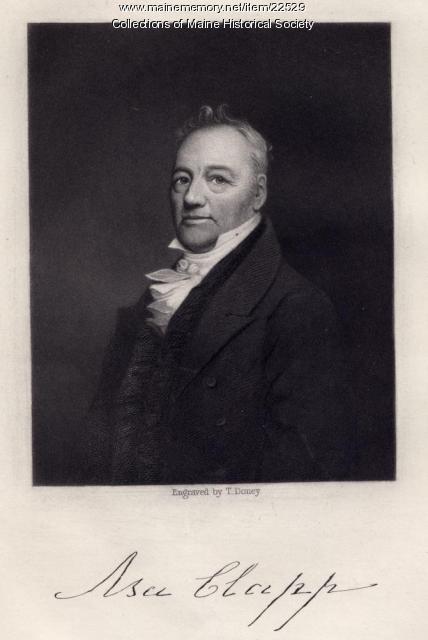 Asa Clapp, Portland, ca. 1840
