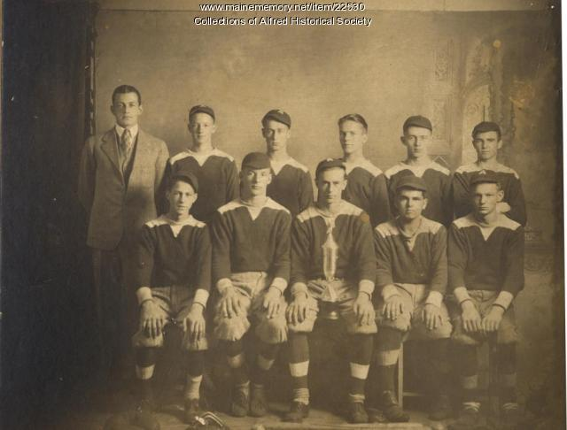 Alfred High School Baseball team, 1929