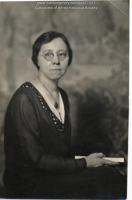 Lillian Gould, York County Deputy Clerk, 1938