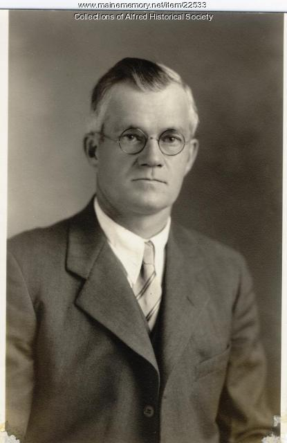 Emery S. Littlefield, Alfred, ca. 1940