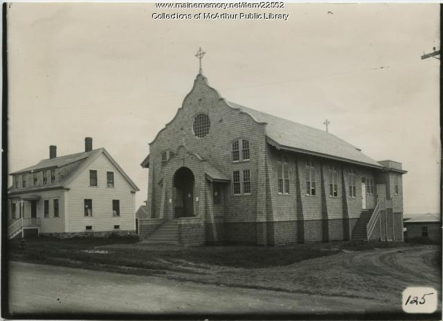 St. Brendan's Church, Biddeford, 1916