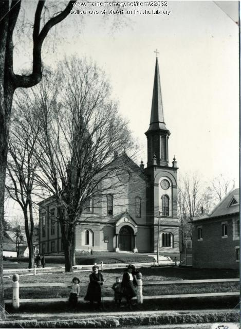 Second Congregational Church, Biddeford, 1909