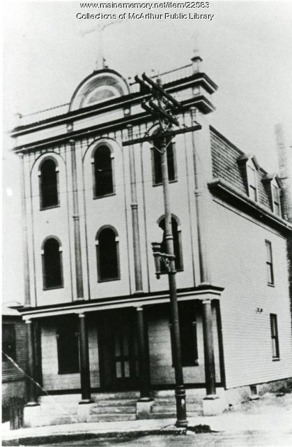 St. Demetrios Greek Orthodox Church, Biddeford, ca. 1920