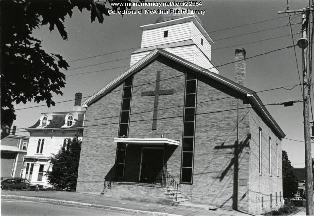 St. Demetrios Greek Orthodox Church, Biddeford, 1955