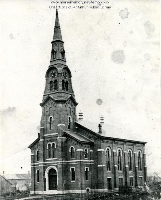 Pavilion Congregational Church, Biddeford, 1870