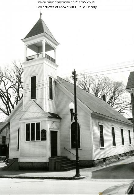 Advent Christian Church, Biddeford, 1955
