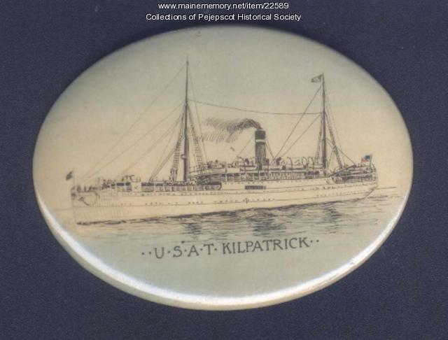 Souvenir of the U.S.A.T. Kilpatrick