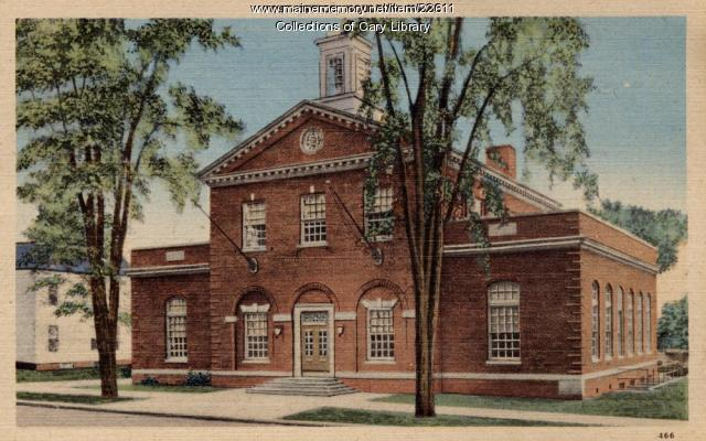 Houlton Post Office, ca. 1935