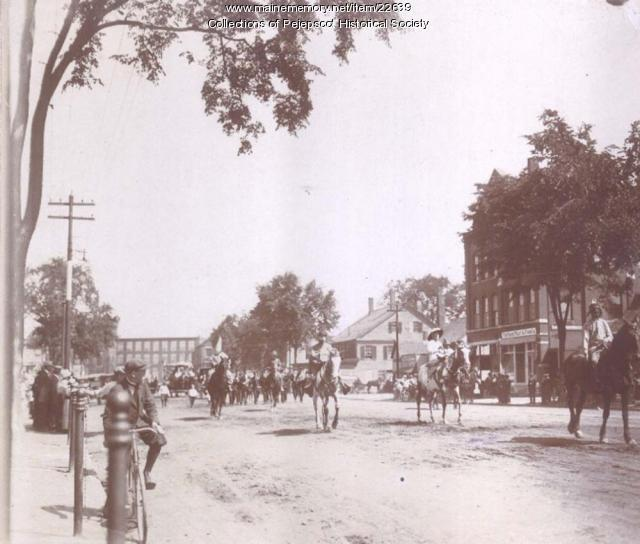 Parade, Brunswick, ca. 1920