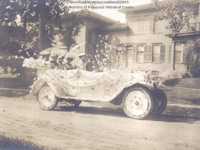 Parade - Autos, Brunswick, ca. 1920