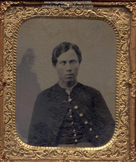 John Mahoney, ca. 1865