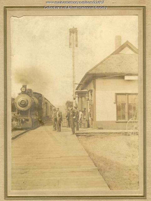 Train #34, Alfred, 1909