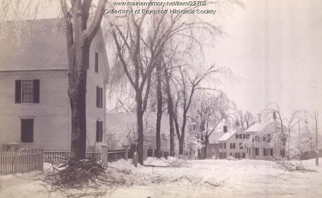Snow Storm, Topsham, 1887