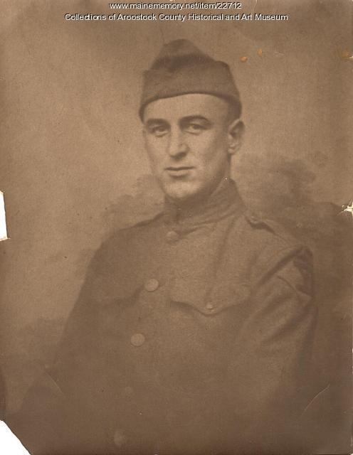 Harold Berry, Houlton, 1919