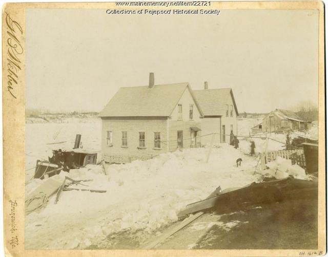 Great Freshet, March 2, 1896, Brunswick
