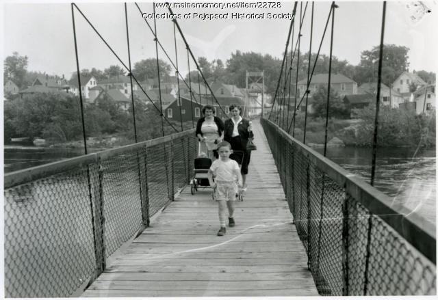 Swing Bridge, Brunswick-Topsham, 1936