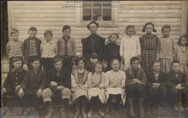 Dudley School, Mapleton, ca. 1911