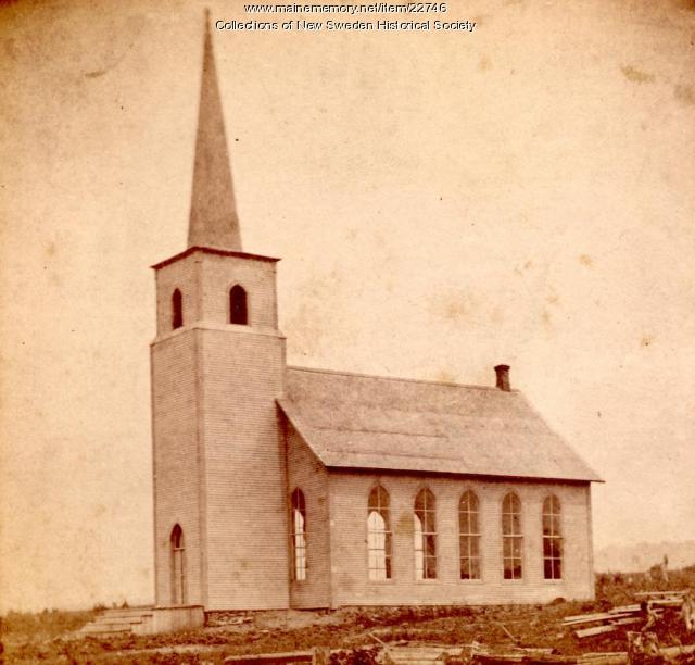 New Sweden Lutheran Church, 1880
