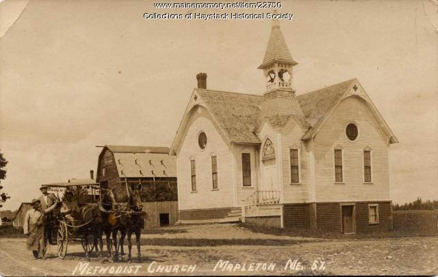 Methodist Church, Mapleton, ca. 1910