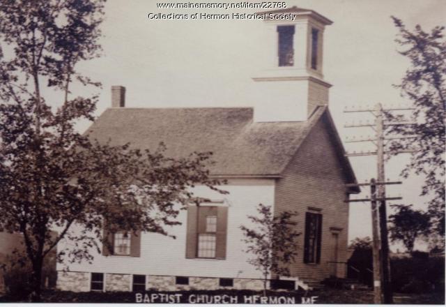 Hermon Baptist Church, ca. 1910