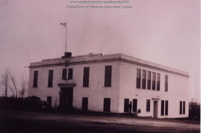 Hermon High School, 1933
