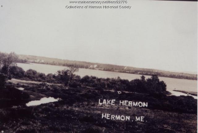 Hermon Pond, ca. 1914