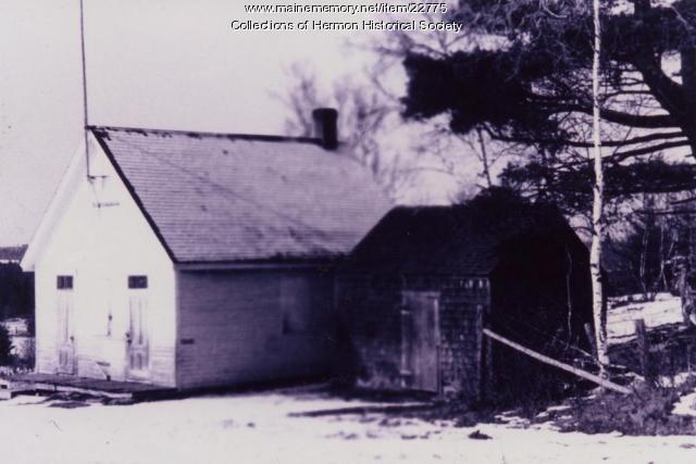 Hermon School Number 13, ca. 1932