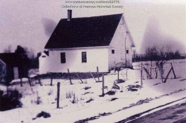 Hermon School Number 8, ca. 1955