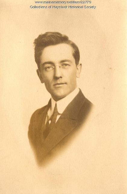 Aubrey Lee Ferguson, Mapleton, ca. 1913