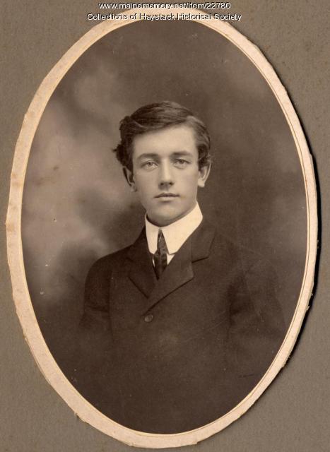 Aubrey Lee Ferguson, Mapleton, ca. 1903