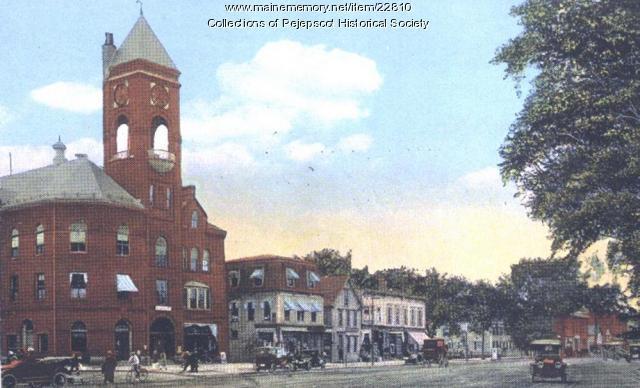 Maine Street, Brunswick, ca. 1920