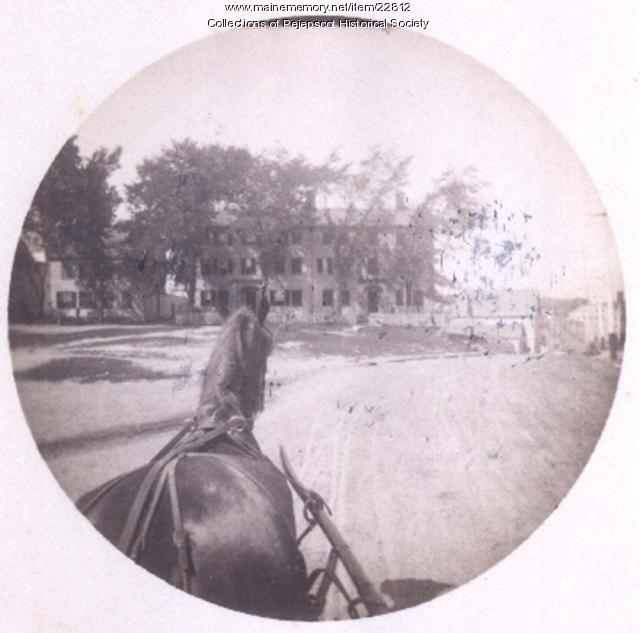 Maine Street, Brunswick, 1889